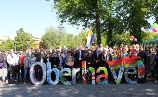 Der Landkreis Oberhavel gemeinsam für Toleranz und Akzeptanz und Vielfalt von Lebensformen.