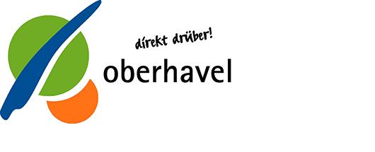 Logo Landkreis Oberhavel, Förderer der Partnerschaft für Demokratie Oberhavel