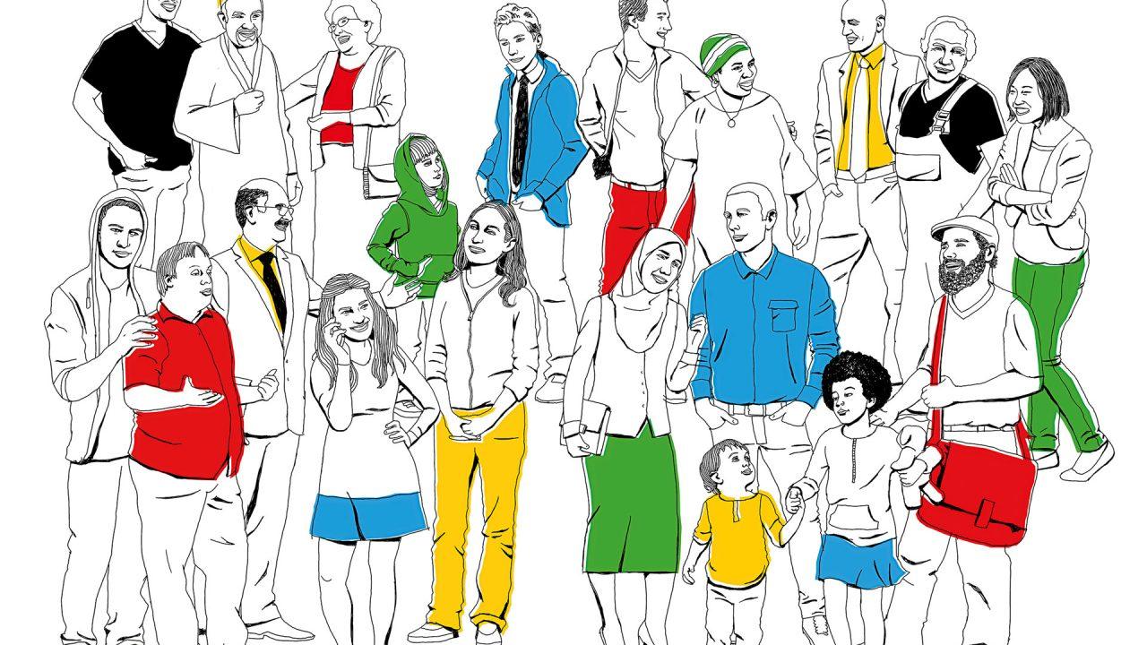Illustration-Bundesprogramm-demokratie-leben