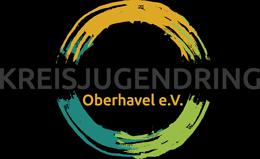 Logo des Kreisjugendring Oberhavel e.V., Träger der Partnerschaft für Demokratie Oberhavel