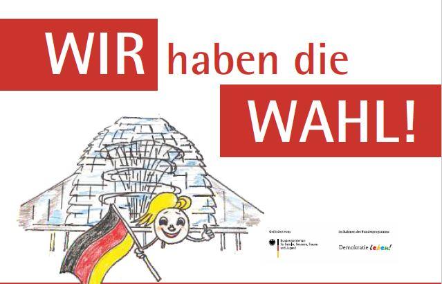 """""""Wir haben die Wahl"""" ist der Titel zu einer Podiumsdiskussion am 8.9.21 mit Bundestagskandidat*innen aus Oberhavel zum Thema Inklusion"""